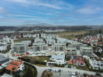 Erstbezug: Großzügige 3‑Zimmer-Obergeschosswohnung mit Einbauküche und Balkon, 88045 Friedrichshafen, Etagenwohnung